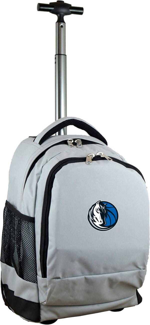 Mojo Dallas Mavericks Wheeled Premium Grey Backpack product image