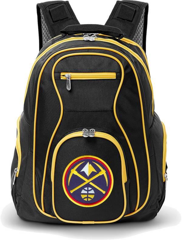Mojo Denver Nuggets Colored Trim Laptop Backpack product image