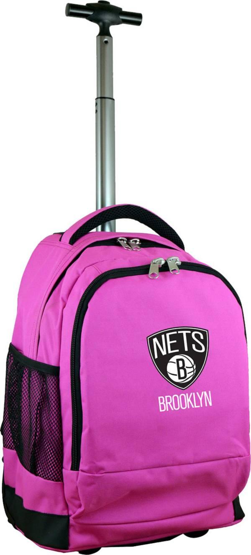 Mojo Brooklyn Nets Wheeled Premium Pink Backpack product image