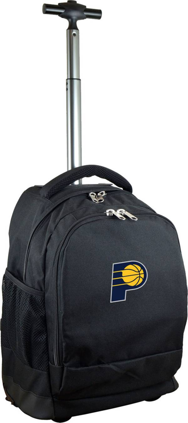 Mojo Indiana Pacers Wheeled Premium Black Backpack product image
