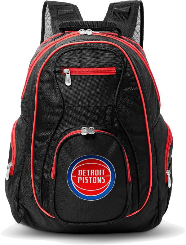 Mojo Detroit Pistons Colored Trim Laptop Backpack product image