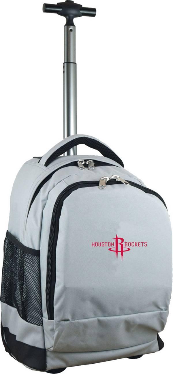 Mojo Houston Rockets Wheeled Premium Grey Backpack product image