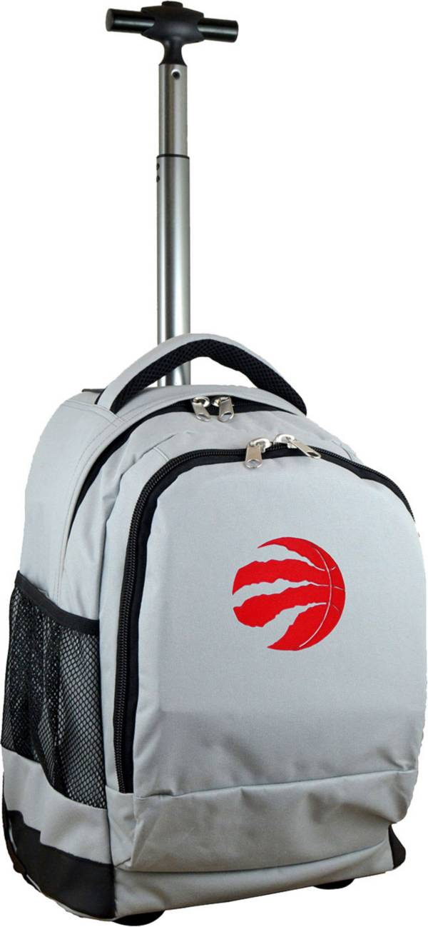 Mojo Toronto Raptors Wheeled Premium Grey Backpack product image