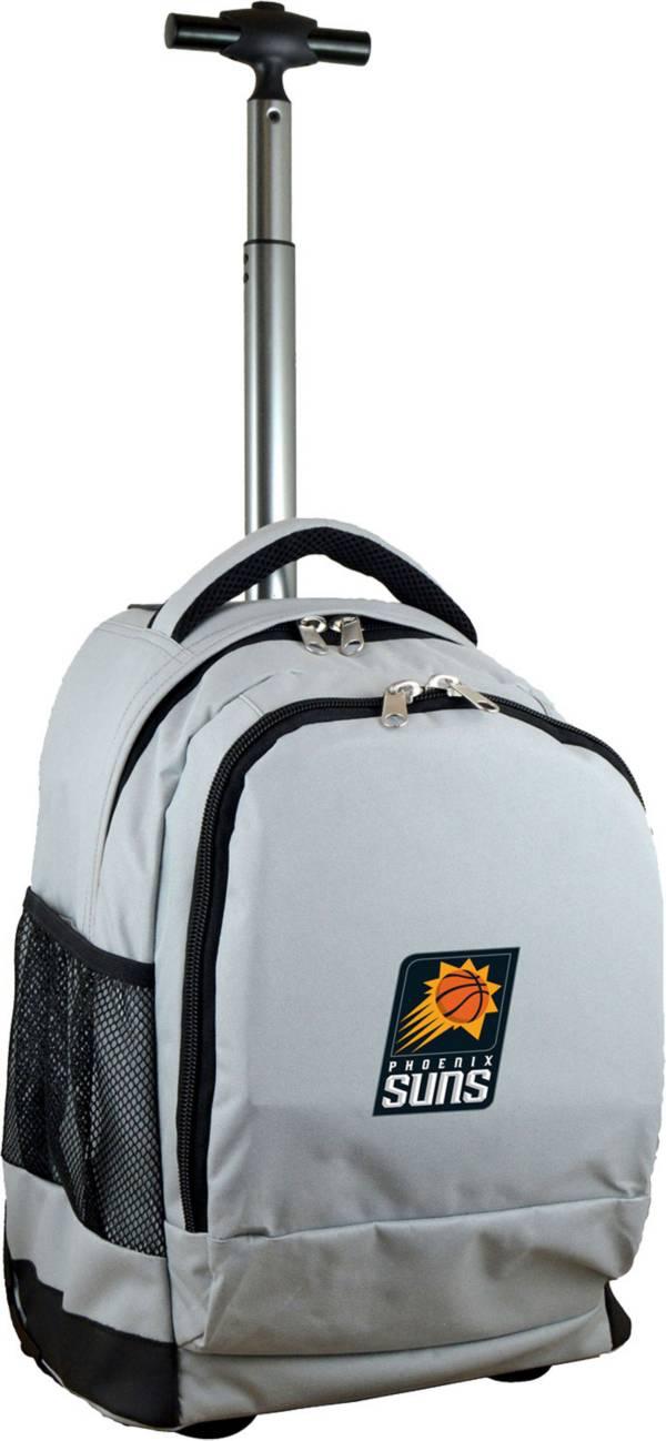 Mojo Phoenix Suns Wheeled Premium Grey Backpack product image