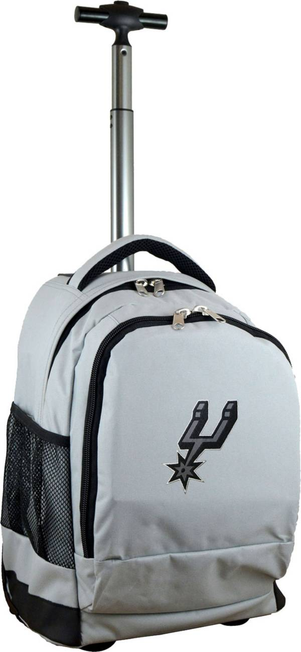 Mojo San Antonio Spurs Wheeled Premium Grey Backpack product image