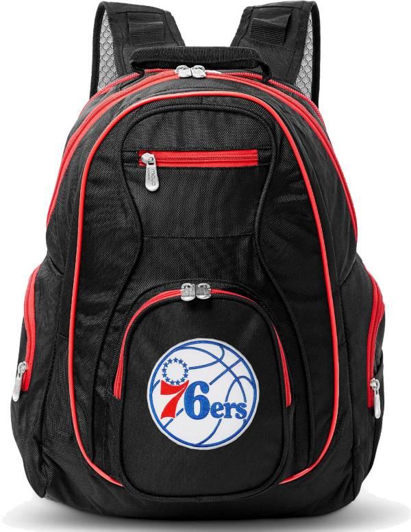 Mojo Philadelphia 76ers Colored Trim Laptop Backpack product image