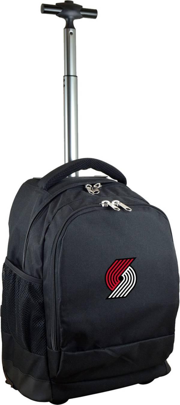 Mojo Portland Trail Blazers Wheeled Premium Black Backpack product image