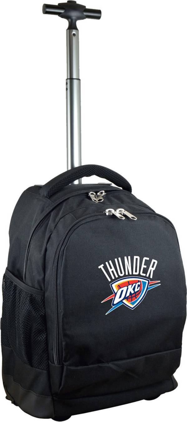 Mojo Oklahoma City Thunder Wheeled Premium Black Backpack product image