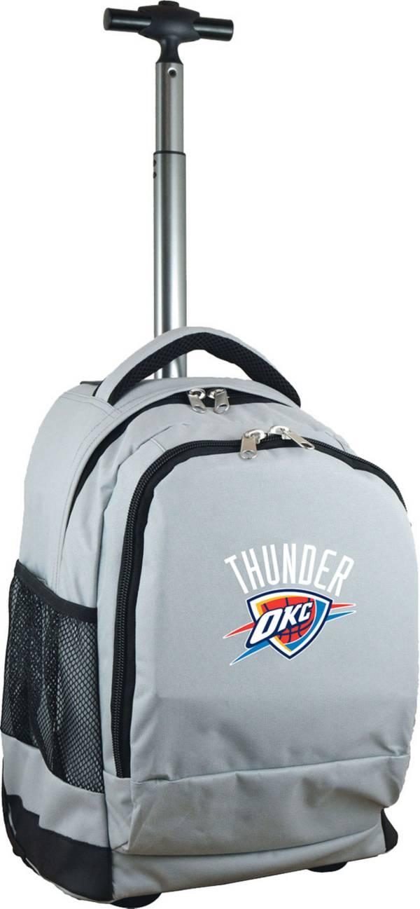 Mojo Oklahoma City Thunder Wheeled Premium Grey Backpack product image
