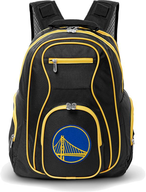 Mojo Golden State Warriors Colored Trim Laptop Backpack product image