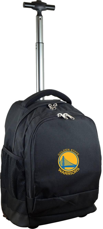 Mojo Golden State Warriors Wheeled Premium Black Backpack product image