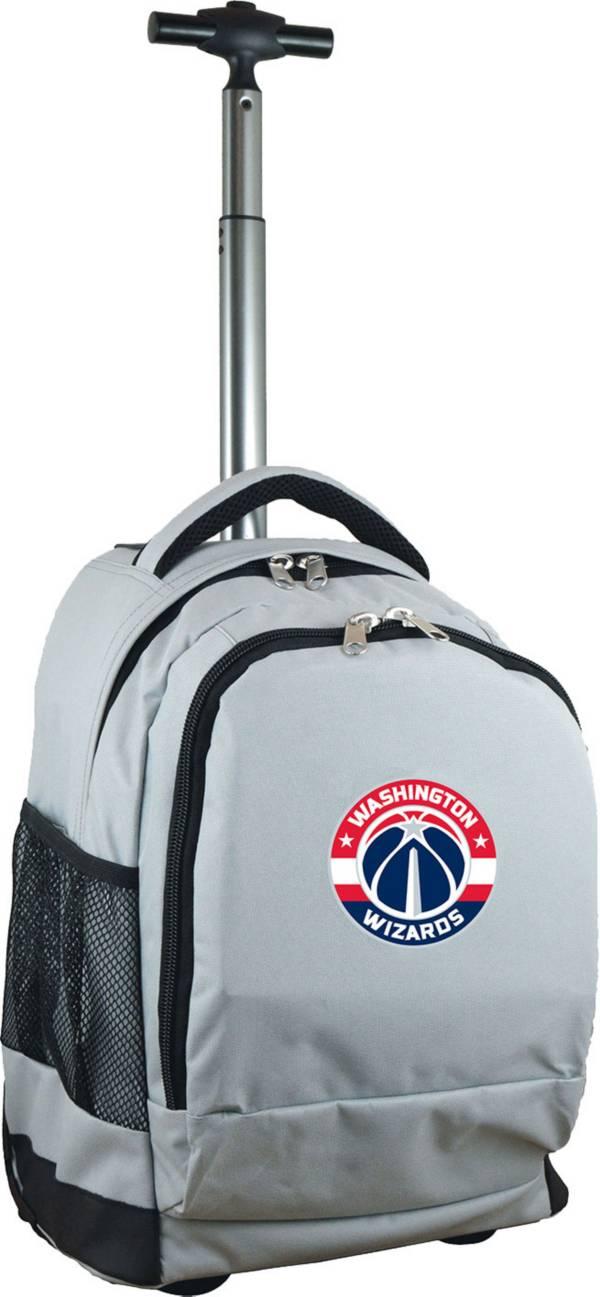Mojo Washington Wizards Wheeled Premium Grey Backpack product image