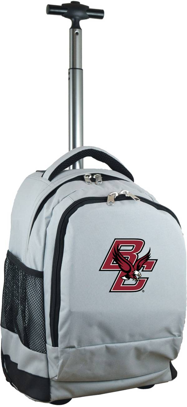 Mojo Boston College Eagles Wheeled Premium Grey Backpack product image