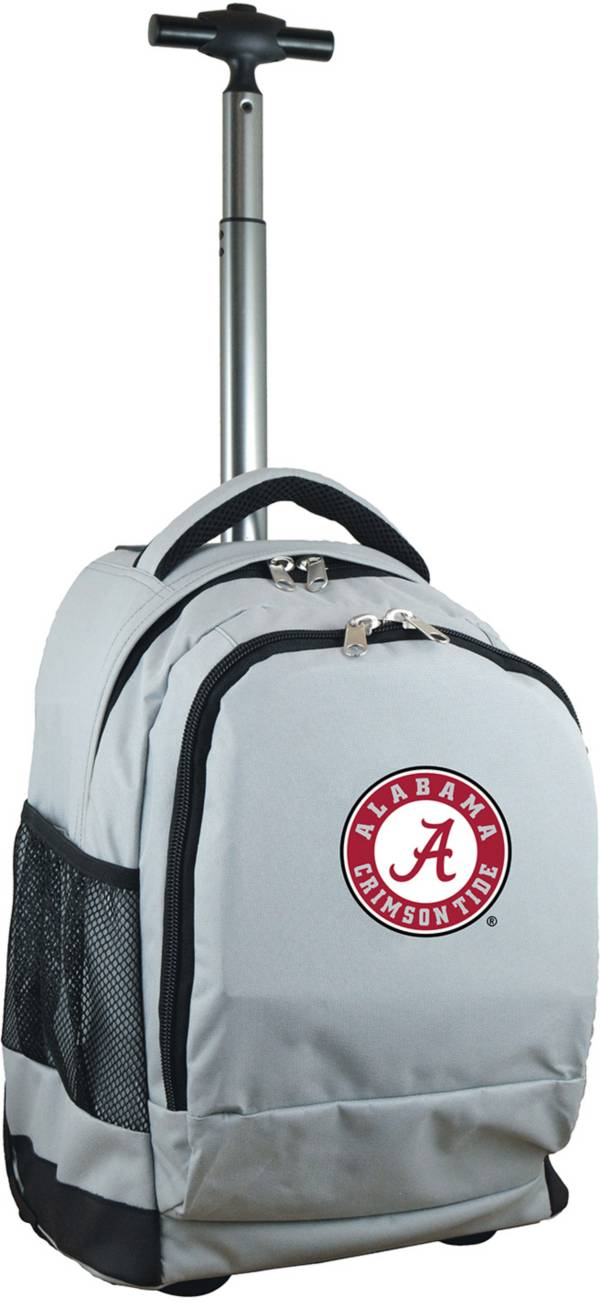 Mojo Alabama Crimson Tide Wheeled Premium Grey Backpack product image