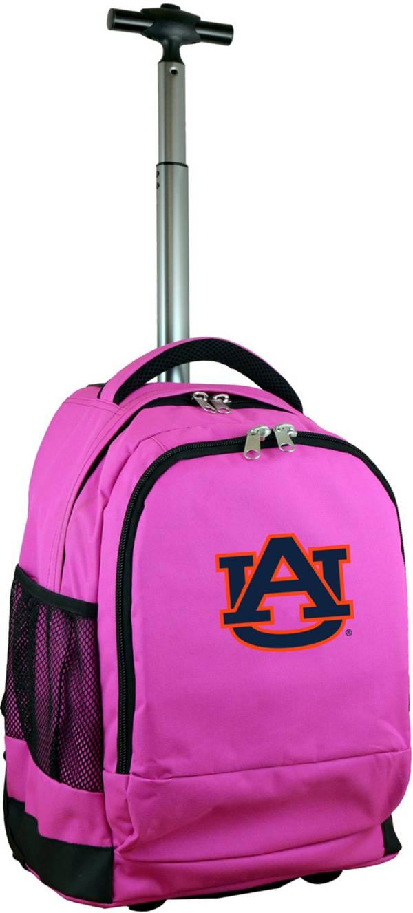 Mojo Auburn Tigers Wheeled Premium Pink Backpack product image