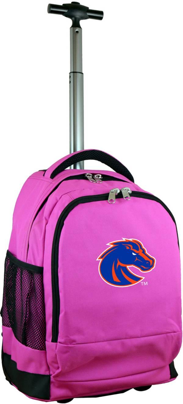 Mojo Boise State Broncos Wheeled Premium Pink Backpack product image