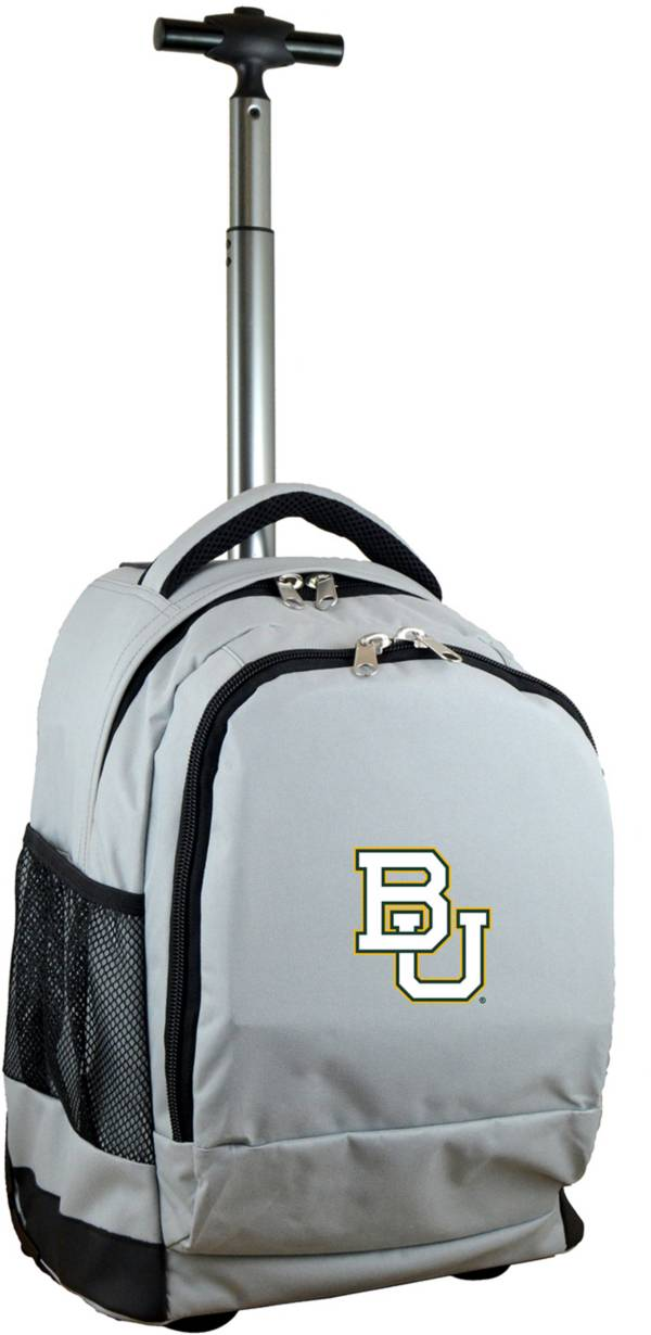 Mojo Baylor Bears Wheeled Premium Grey Backpack product image