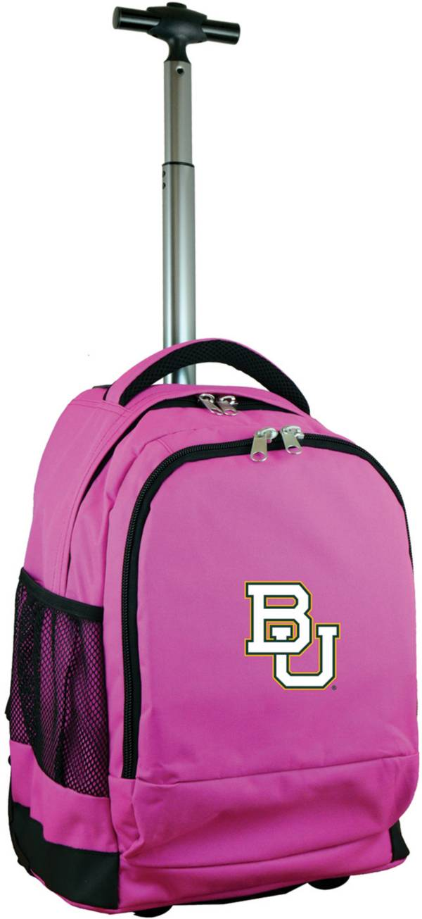 Mojo Baylor Bears Wheeled Premium Pink Backpack product image