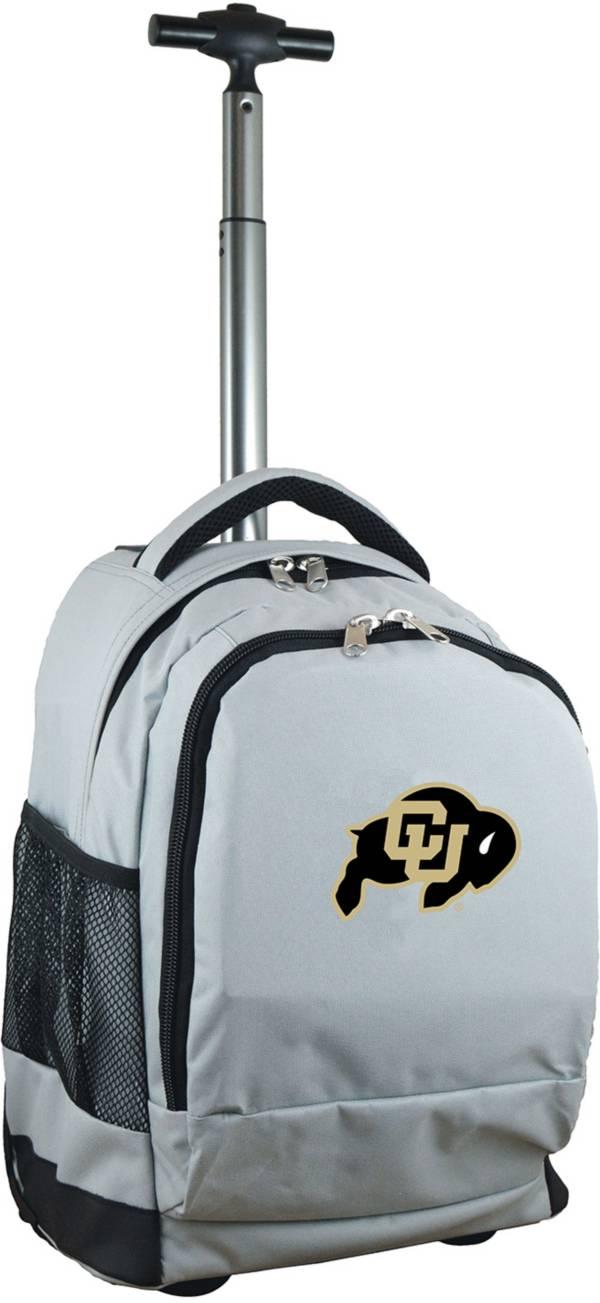 Mojo Colorado Buffaloes Wheeled Premium Grey Backpack product image