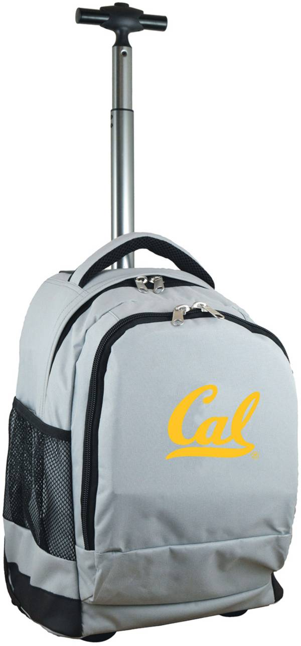 Mojo Cal Golden Bears Wheeled Premium Grey Backpack product image