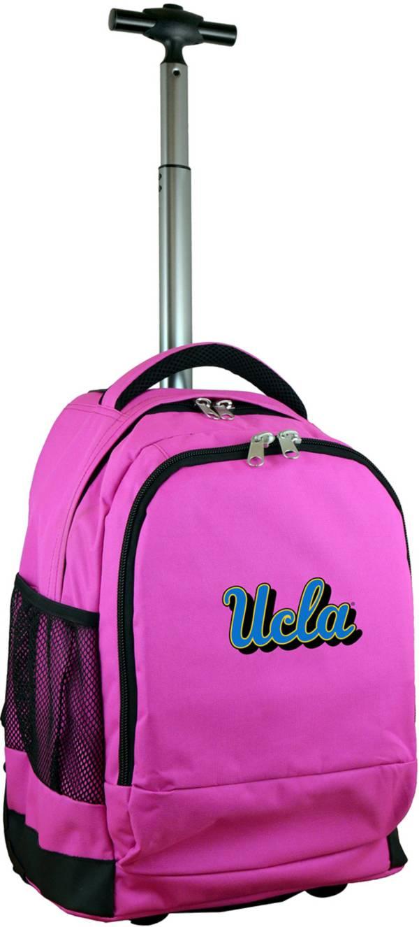 Mojo UCLA Bruins Wheeled Premium Pink Backpack product image