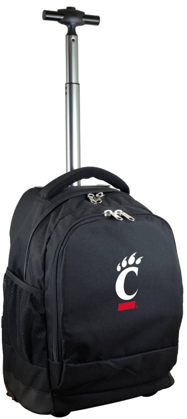 Mojo Cincinnati Bearcats Wheeled Premium Black Backpack product image