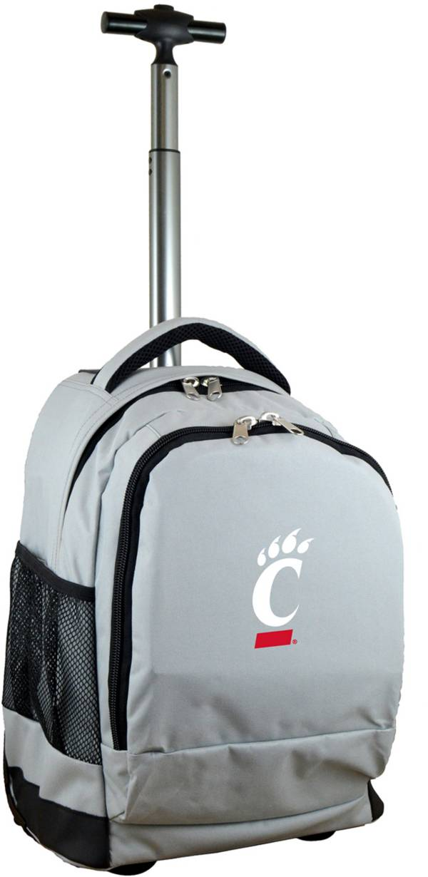 Mojo Cincinnati Bearcats Wheeled Premium Grey Backpack product image