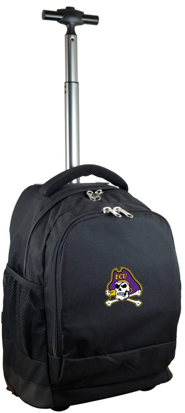 Mojo East Carolina Pirates Wheeled Premium Black Backpack product image