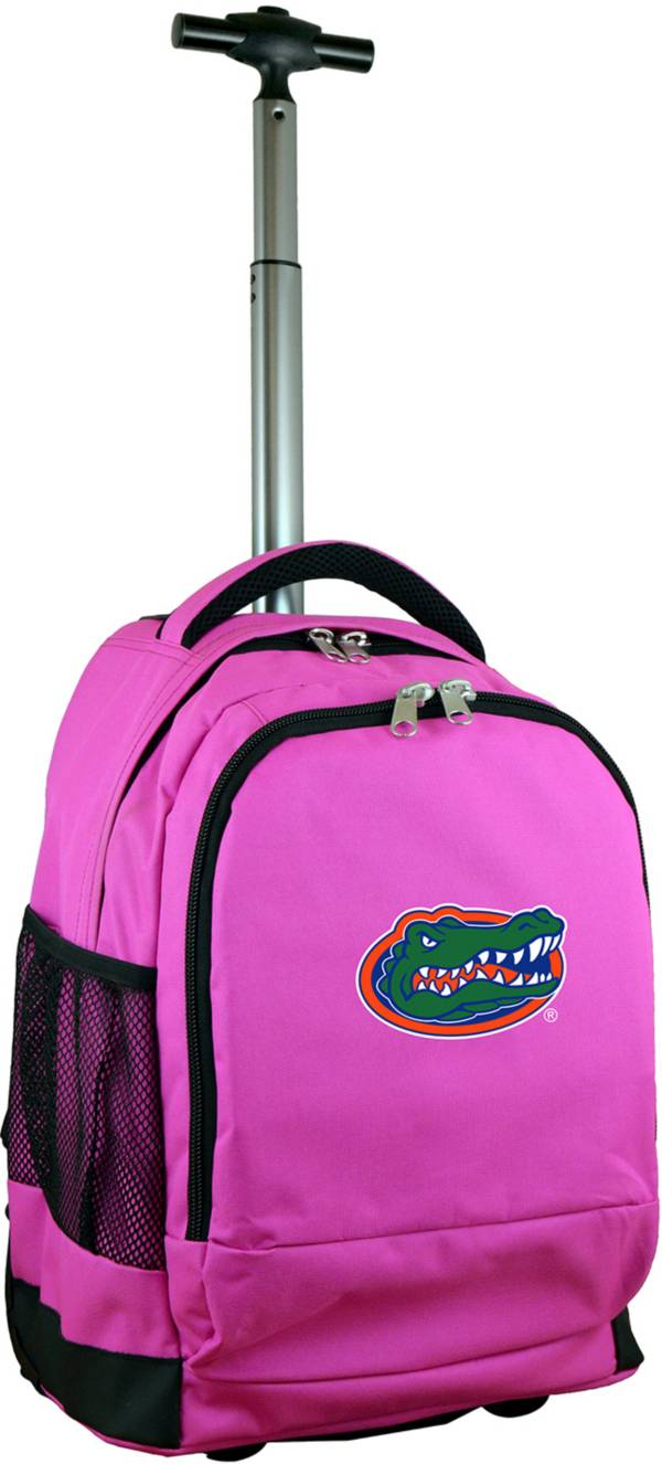 Mojo Florida Gators Wheeled Premium Pink Backpack product image