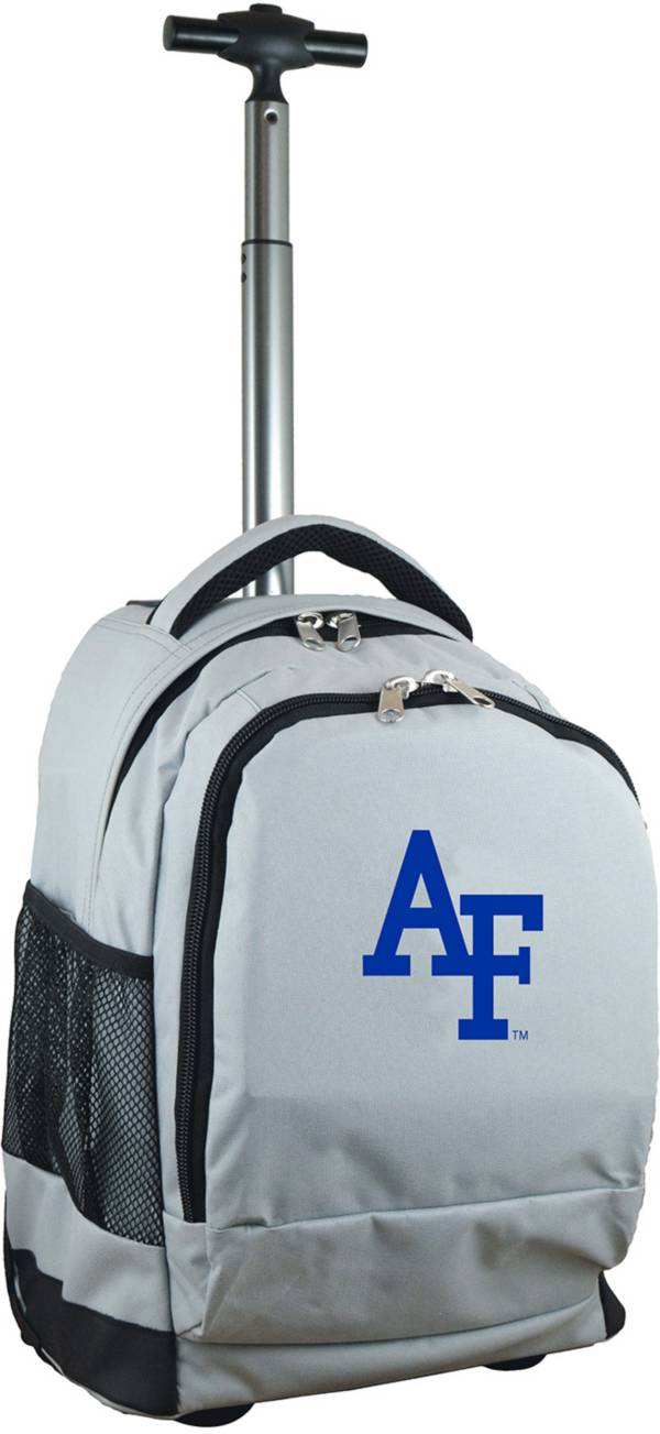Mojo Air Force Falcons Wheeled Premium Grey Backpack product image