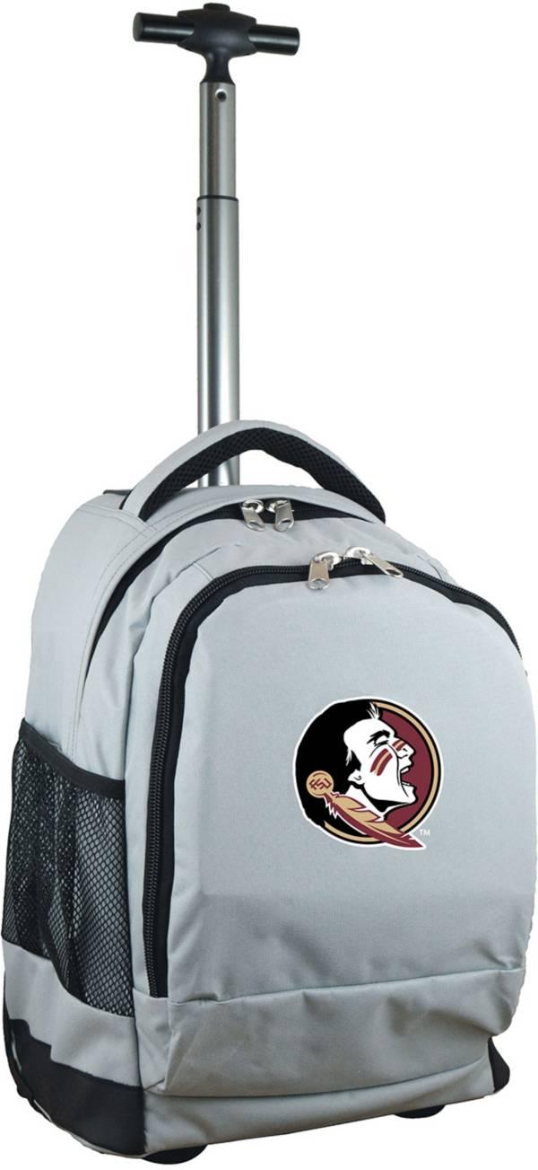 Mojo Florida State Seminoles Wheeled Premium Grey Backpack product image
