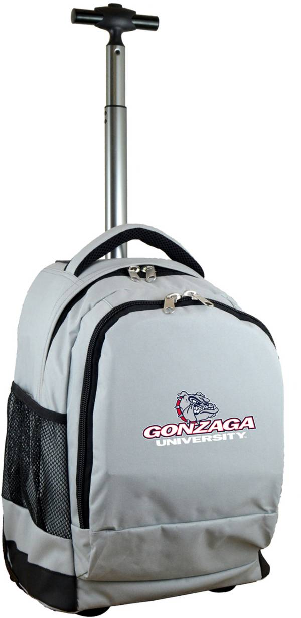 Mojo Gonzaga Bulldogs Wheeled Premium Grey Backpack product image