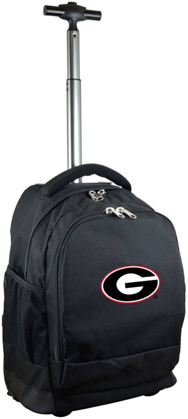 Mojo Georgia Bulldogs Wheeled Premium Black Backpack product image