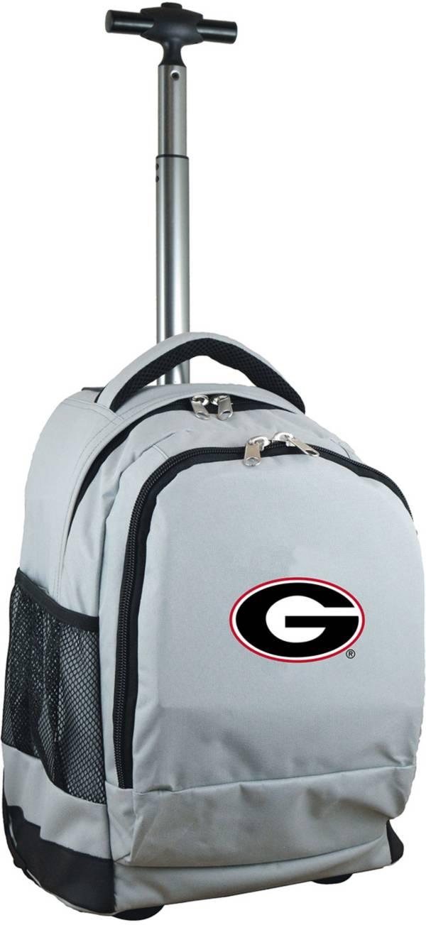 Mojo Georgia Bulldogs Wheeled Premium Grey Backpack product image
