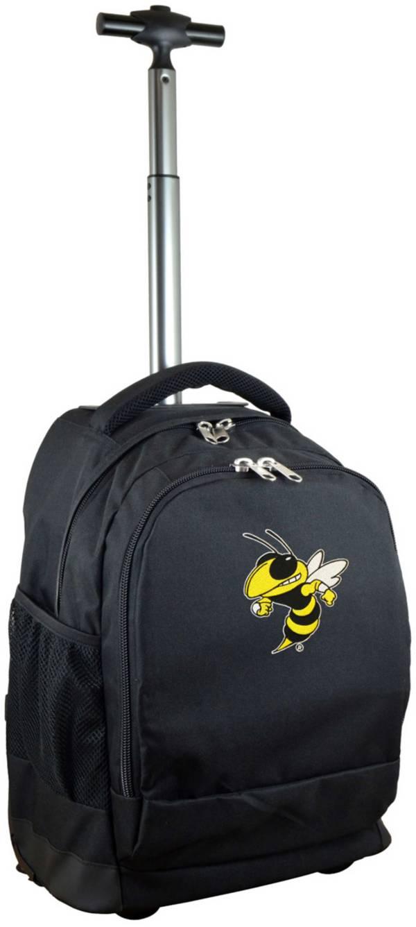 Mojo Georgia Tech Yellow Jackets Wheeled Premium Black Backpack product image