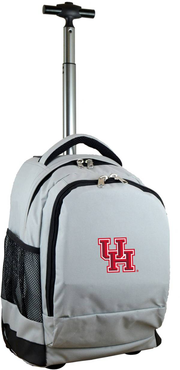 Mojo Houston Cougars Wheeled Premium Grey Backpack product image