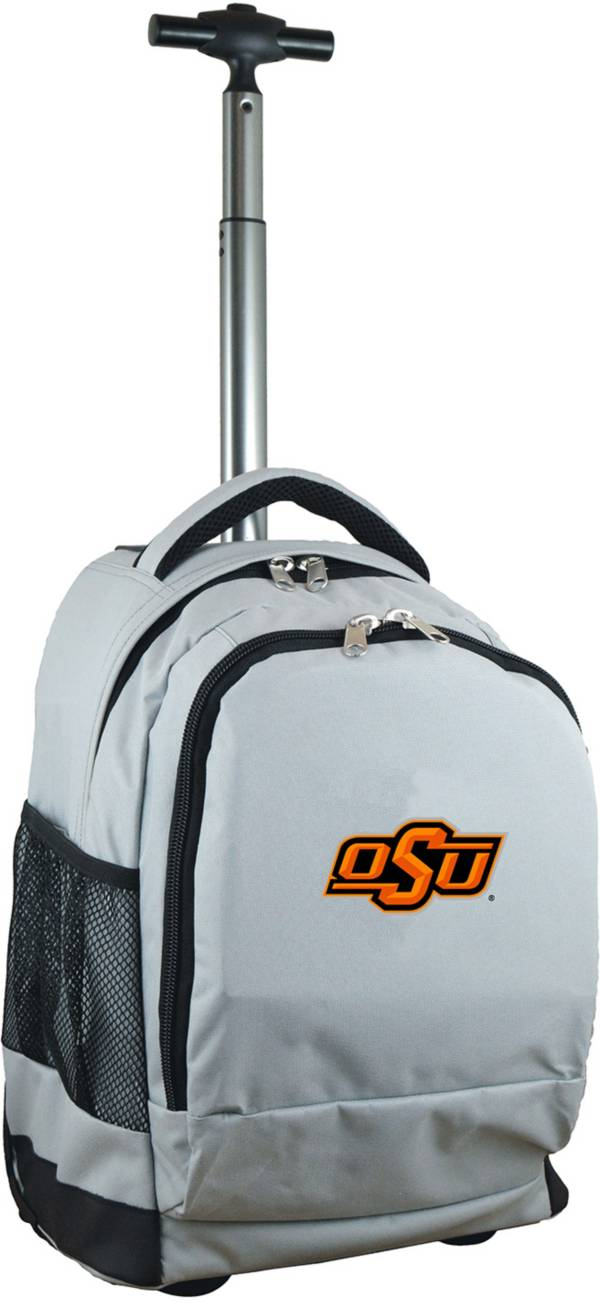 Mojo Oklahoma State Cowboys Wheeled Premium Grey Backpack product image
