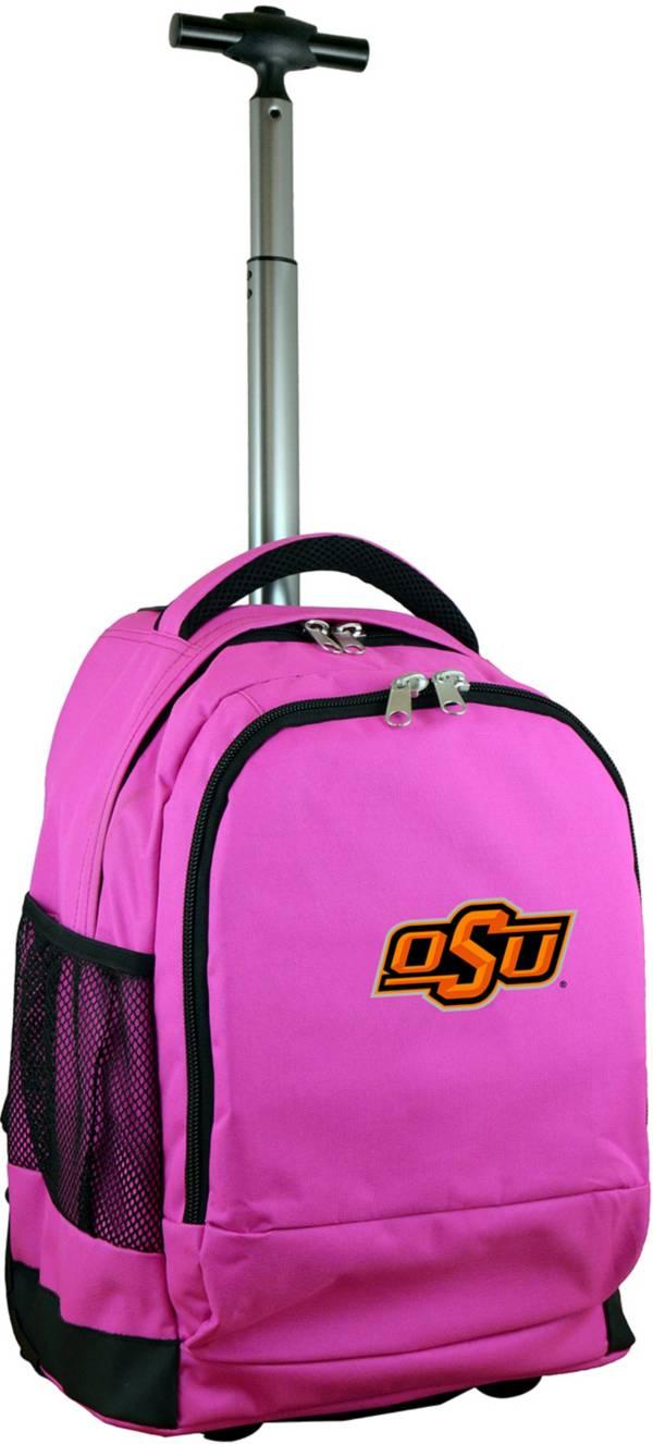 Mojo Oklahoma State Cowboys Wheeled Premium Pink Backpack product image