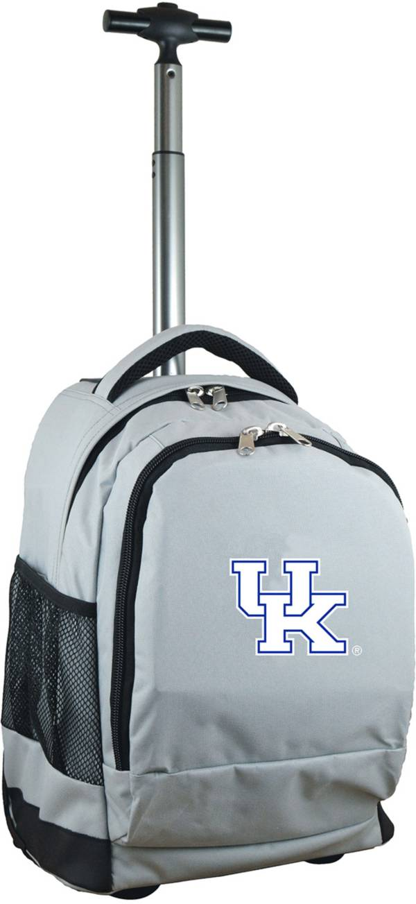 Mojo Kentucky Wildcats Wheeled Premium Grey Backpack product image