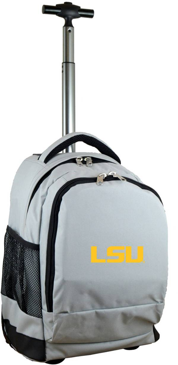 Mojo LSU Tigers Wheeled Premium Grey Backpack product image