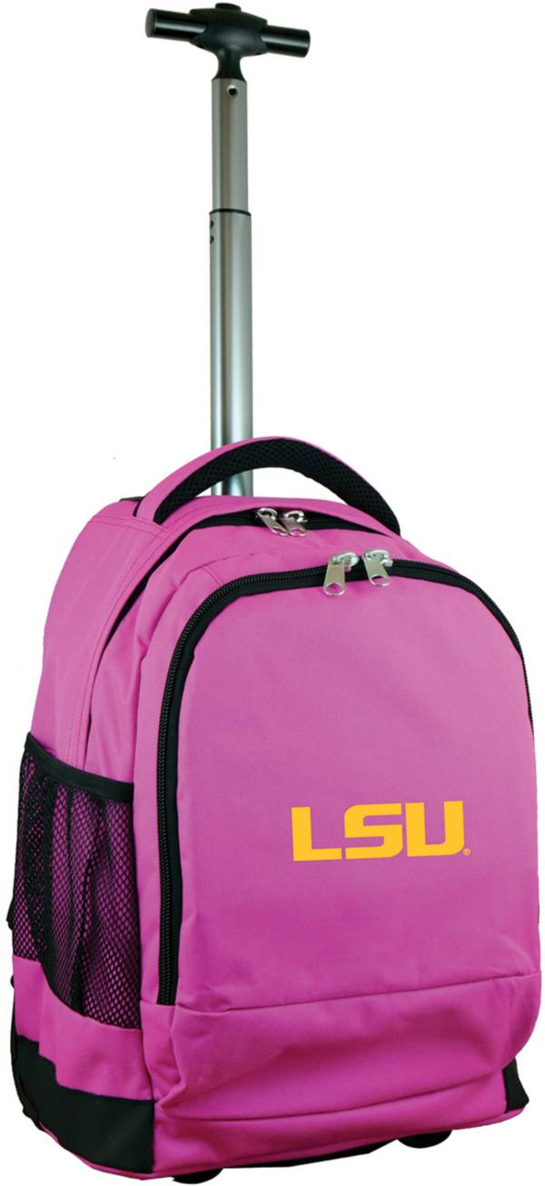 Mojo LSU Tigers Wheeled Premium Pink Backpack product image