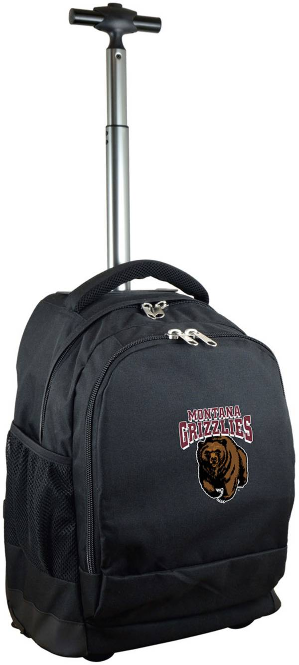 Mojo Montana Grizzlies Wheeled Premium Black Backpack product image