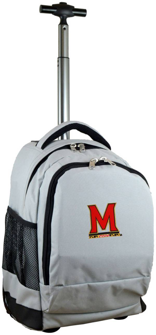 Mojo Maryland Terrapins Wheeled Premium Grey Backpack product image