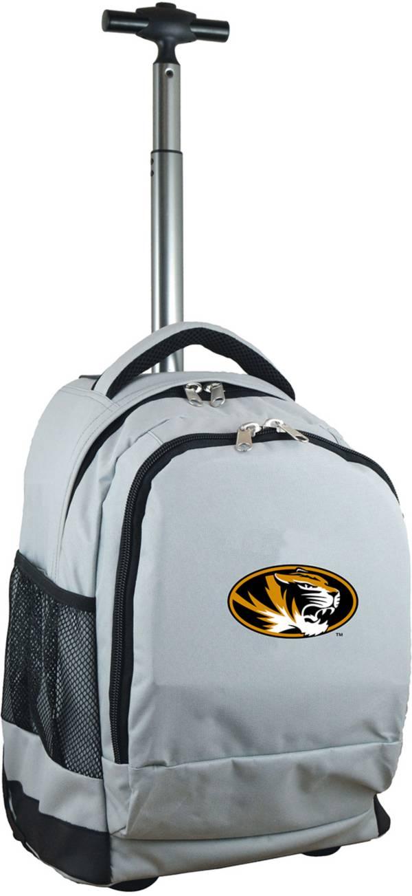 Mojo Missouri Tigers Wheeled Premium Grey Backpack product image