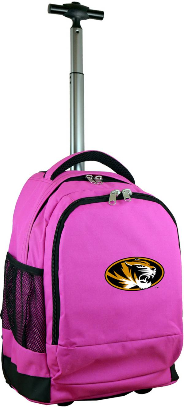 Mojo Missouri Tigers Wheeled Premium Pink Backpack product image