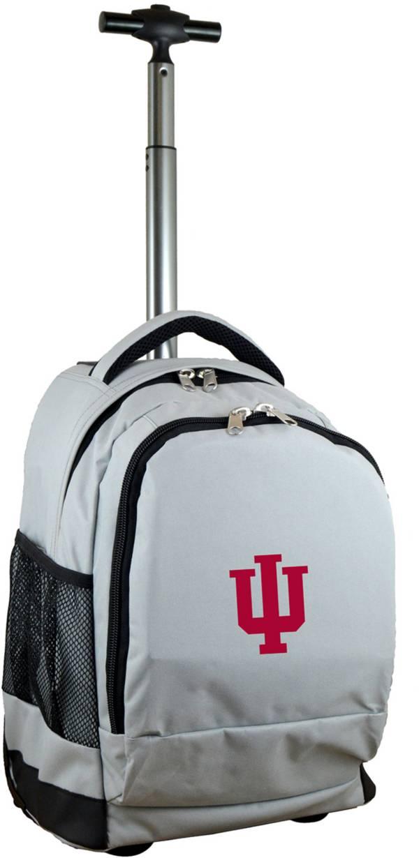 Mojo Indiana Hoosiers Wheeled Premium Grey Backpack product image