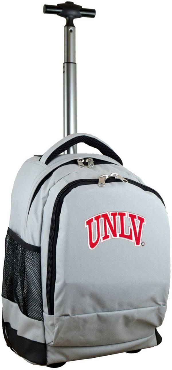 Mojo UNLV Rebels Wheeled Premium Grey Backpack product image
