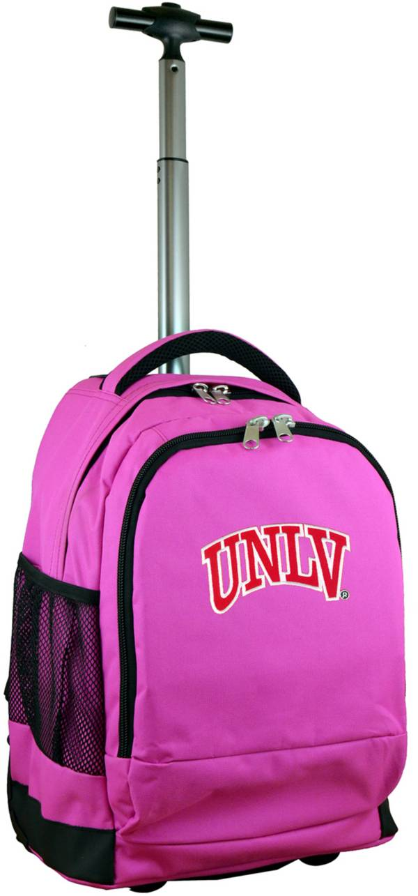 Mojo UNLV Rebels Wheeled Premium Pink Backpack product image