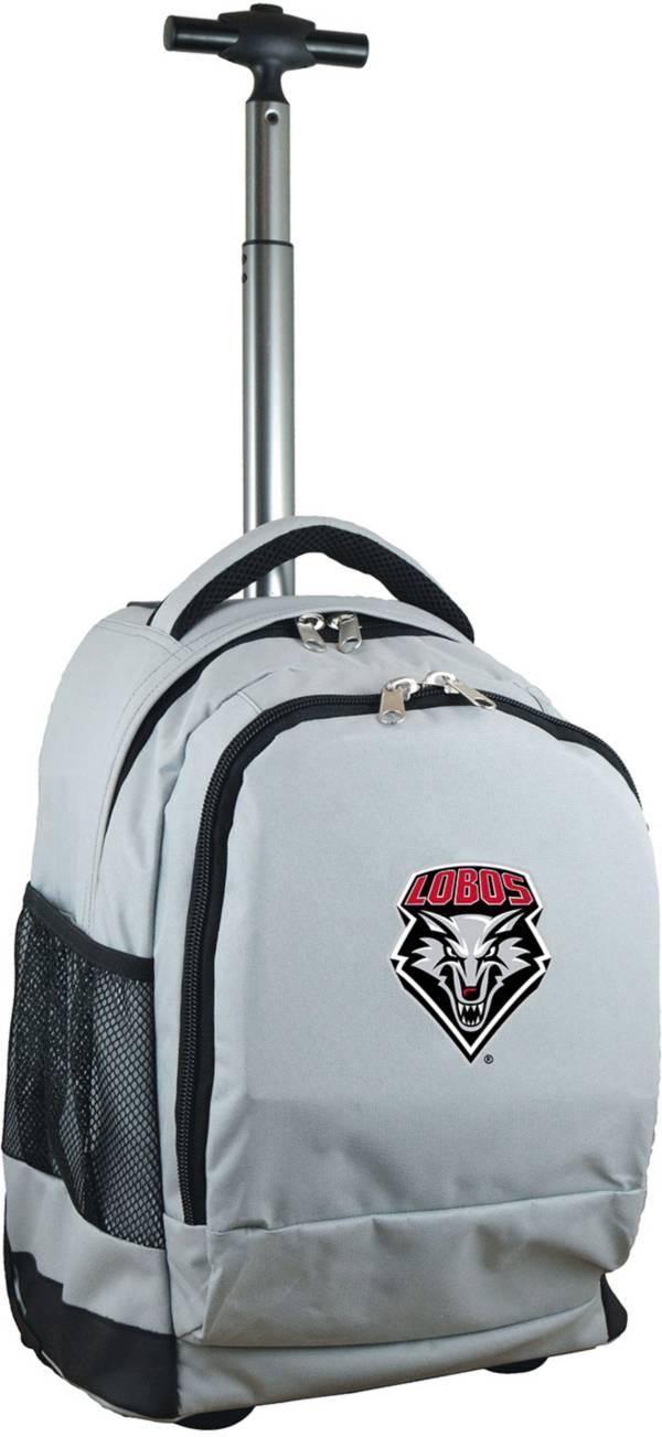 Mojo New Mexico Lobos Wheeled Premium Grey Backpack product image