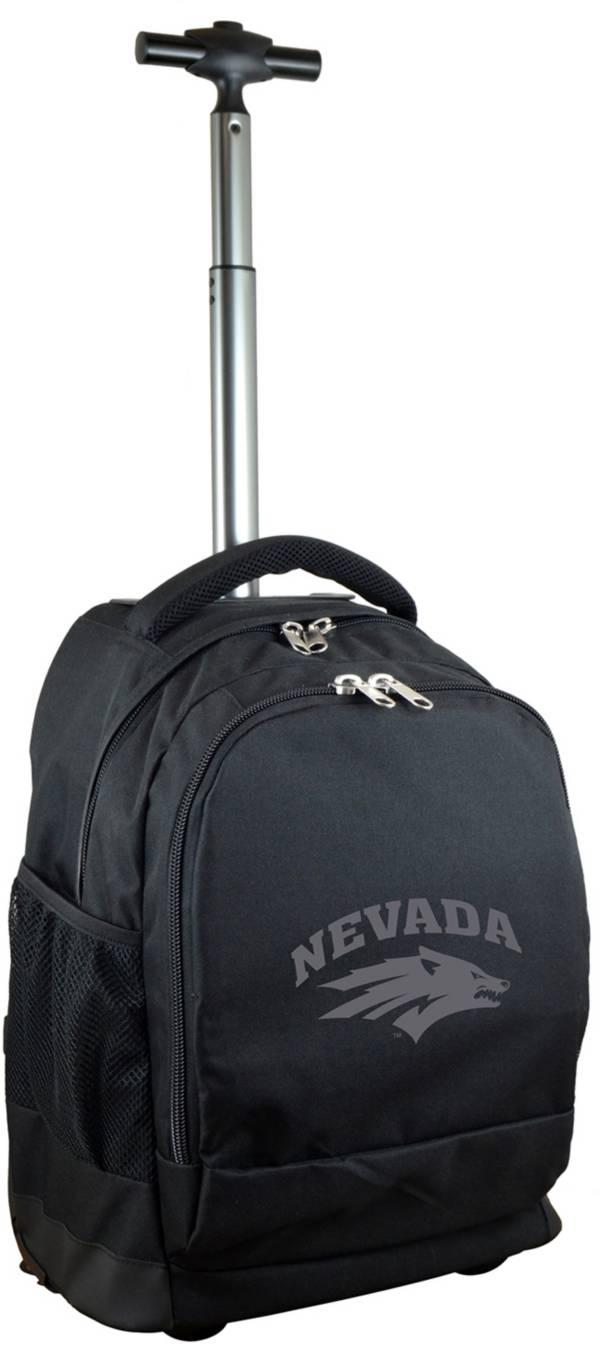 Mojo Nevada Wolf Pack Wheeled Premium Black Backpack product image